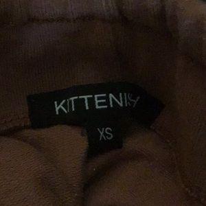 Kittenish Pants & Jumpsuits - Kittenish fringe jogger